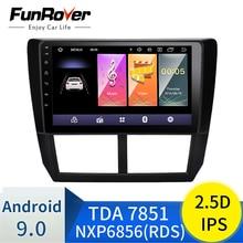 9 дюймов 2din Android 9,0 Автомагнитола для 2008 2009 2010 2011 2012 Subaru Forester gps аудио головное устройство мультимедийный плеер