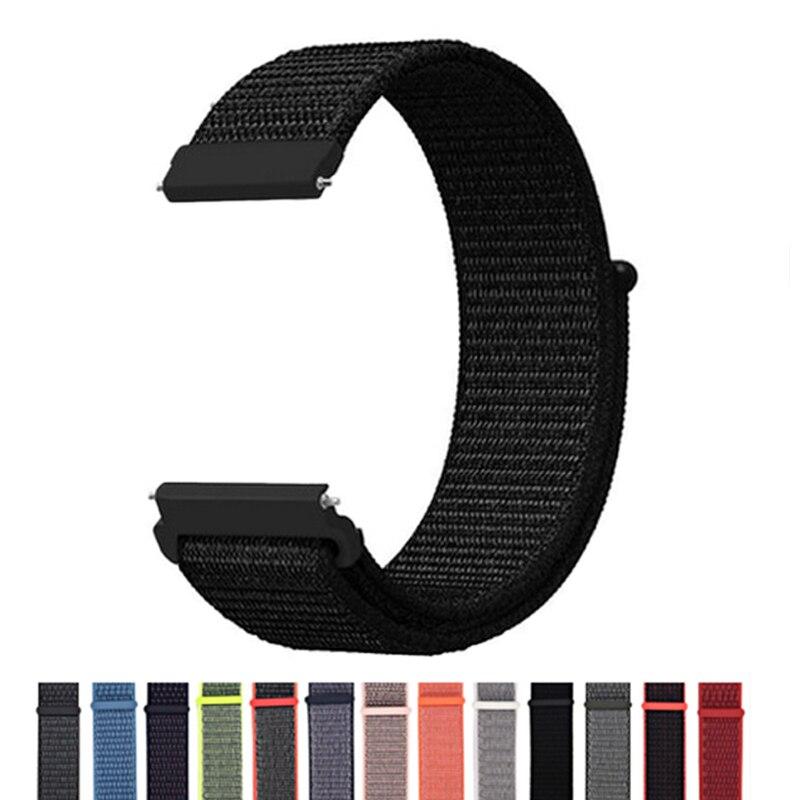 18MM 20MM 22MM Nylon Wrist Strap For Garmin Vivoactive4s Vivoavtive 4s Smart Watch Band Straps For Vivoactive 4 3 Active Correa