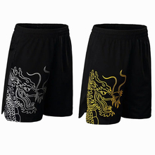 Китайский дракон взрослые мужские шорты для бадминтона, теннисные шорты, спортивные шорты для бега, футбола, настольного тенниса, шорты для пинг-понга