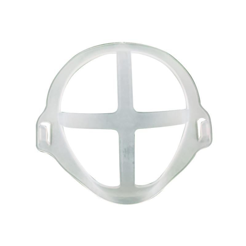 1/10PC 3D Reusable Mask Bracket Prevent Tightness Better Breath Flexible Food Grade Silicone Mouth Mask Support Bracket TSLM1 2