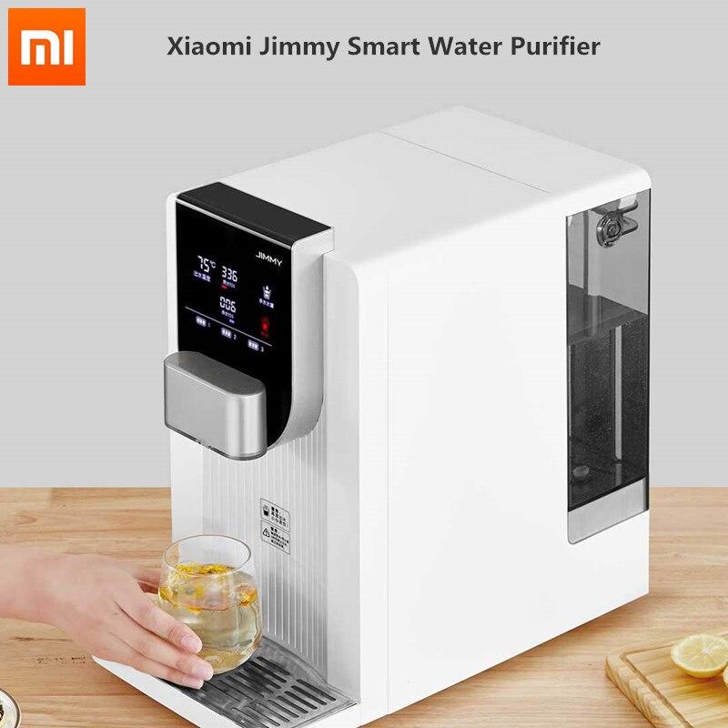 Xiaomi Jimmy JST R310 настольный Бесплатная Установка смарт очиститель воды 4L 7 Скорость Температура регулировки домашний фильтр для воды Водяные фильтры      АлиЭкспресс