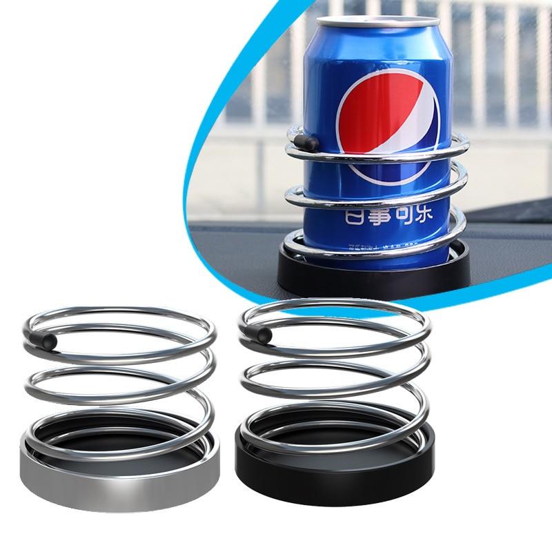 Car Spring Cup Holder Vehicle Dashboard Beverage Stand Ashtray Holder Water  Holder Auto Interior Supplies Accessories