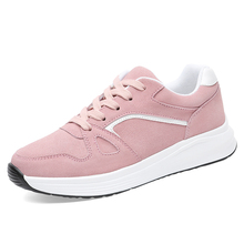 Hot Sale 2019 Women Shoes New Fashion Tenis Feminino Light Breathable Leather Woman Casual Shoes Women's Vulcanized Shoes B0038 2018 hot sale new fashion women casual shoes tenis feminino outdoor walking women flats breathable zapatillas casual shoes