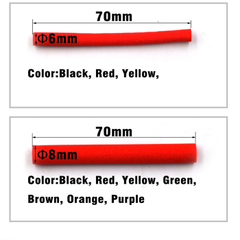 Foam sylinteri perhonsidontaan 6 ja 8 mm 5 kpl