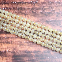Fashion jewelry 4/6/8/10 / 12mm Blond hair, suitable for making jewelry DIY bracelet necklace