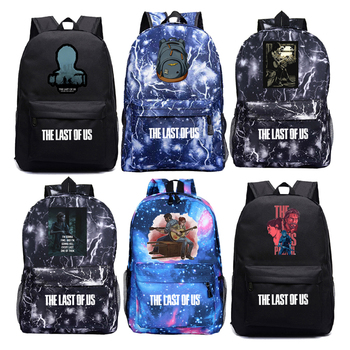 2020 Game The Last of Us 2 Men Backpack Ellie School Bags for Boys Girls Primary School Bookbag Plecak Canvas Bag Laptop Bagpack the last of us ellie costume adult halloween custom red t shirt suit for women hot game fancy shirt ellie outfit