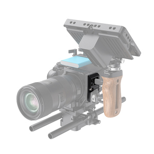 Image 5 - طبق جانبي صغير يسار سمولتوير مع قفل كابل لكاميرا سيجما fp لوحة الإفراج السريع مع USB وقفل كابل HDMI 2672