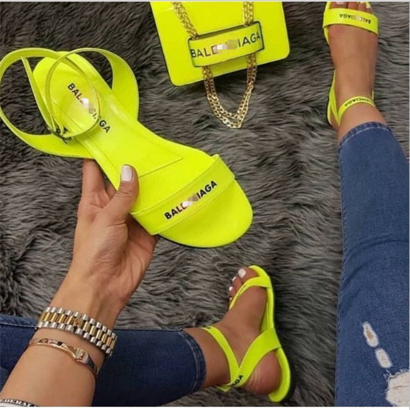 2020 summer women's sandals fashion slippers new flat shoes sandals slipper|Women's Sandals| - AliExpress