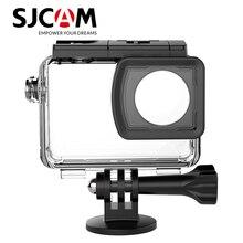 기존 sjcam 액세서리 sj8 시리즈 수중 하우징 방수 케이스 sj8 pro/sj8 plus/sj8 air 4 k 액션 카메라