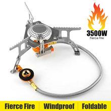 Газовая плита 3500 Вт горелка для кемпинга переносная Бутановая