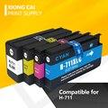 4 шт. совместимый для HP 711 711 для HP 711XL чернильный картридж для HP DesigJet T120 T520 T120 24/ T120 610/ T520 24/ T520