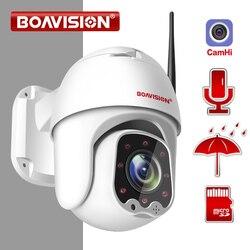 1080P Беспроводная Мини PTZ IP wifi камера скорость купольная 2MP CCTV ip-камера безопасности ONVIF Открытый ИК 30 м двухстороннее аудио P2P приложение CamHi