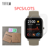 5 шт., защитная пленка для часов Xiaomi Huami Amazfit Bip U BIT PACE Lite S Amazfit GTS 2 POP Pro