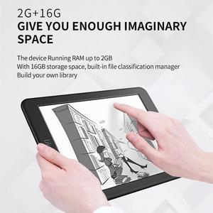 Image 3 - Likebook mars 7.8 Polegada leitor de ebook hd ereader 300ppi 2g + 16g octa core com tela sensível ao toque 3.5mm suporte de interface wifi bt