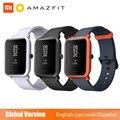 Глобальная версия Huami Amazfit Bip Smartwatch  GPS Gloness Smartwatch  умные часы  45 дней в режиме ожидания для телефона MI8 IOS