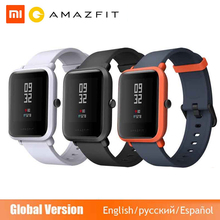 הגלובלי גרסה Huami Amazfit ביפ חכם שעון GPS Gloness Smartwatch חכם Watchs 45 ימים המתנה עבור טלפון MI8 IOS