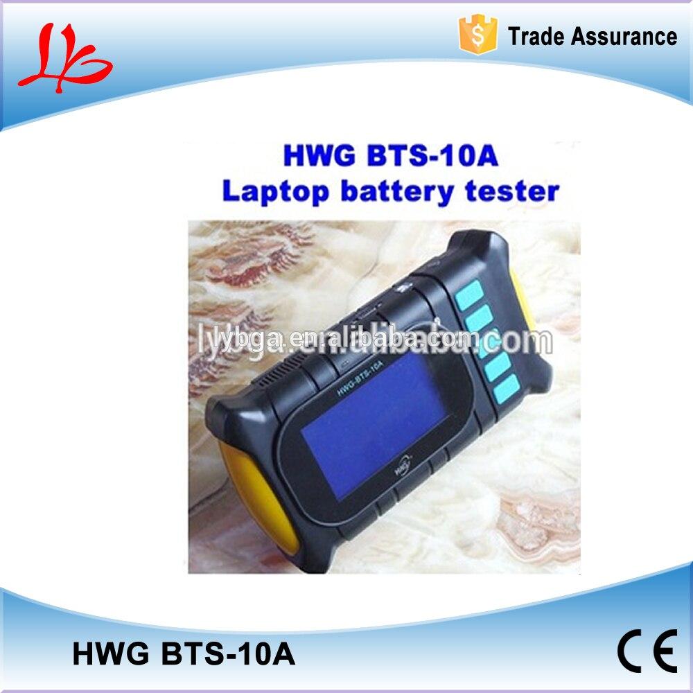 Testeur de batterie dordinateur portable universel HWG BTS-10A, testeur de batterie automatique avec écran LCD