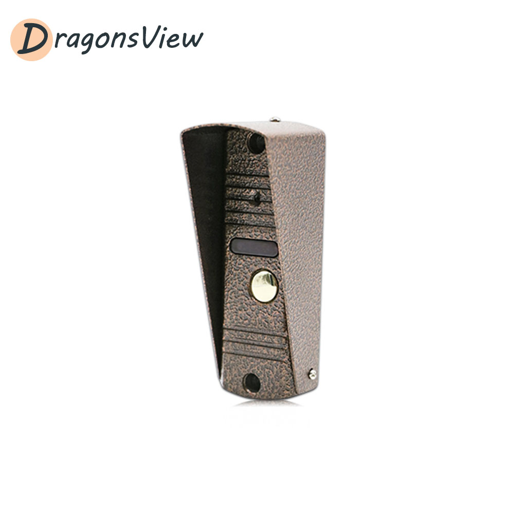 Dragonsview 800TVL Video Doorbell Camera For Home Security Video Door Phone Intercom Day Night Vision With Waterproof Cover