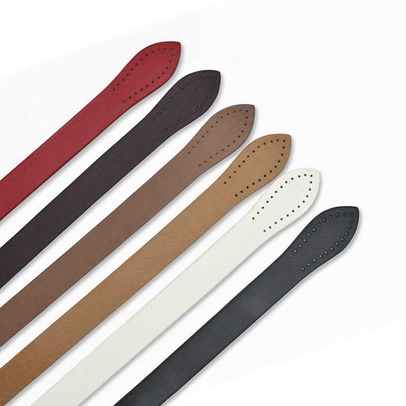 2Pcs 60cm Bag Belt Detachable PU Leather Handle Women Shoulder Bag DIY Replacement Accessories Handbag Handle Strap Band