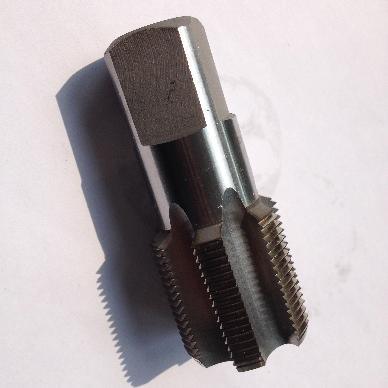 "1""-11 BSPP 5 Flute Straight Flute British Parallel Pipe Plug Tap"