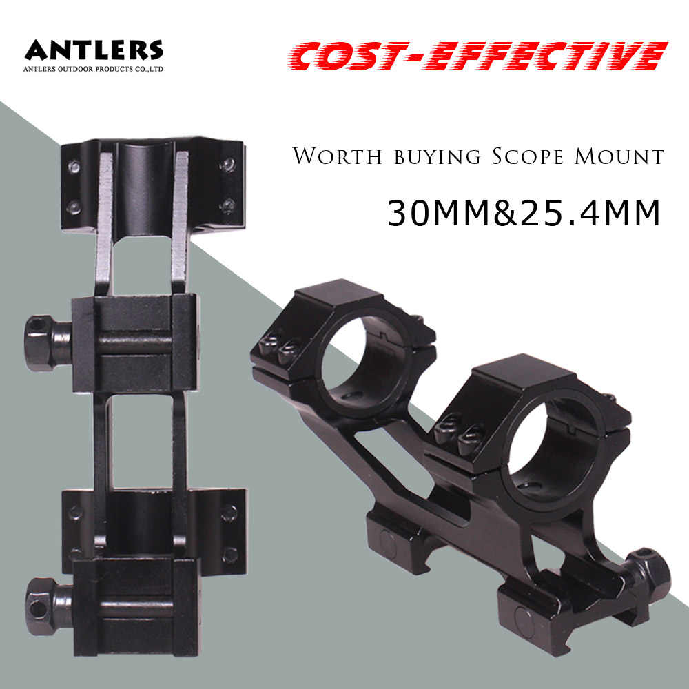Tactical 25.4/30mm Universal Optic Scope Mount For 20mm Picatinny Rail weaver Scope Mounts Hunting Accessories