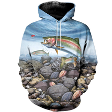 Tessffel New Fashion Animal Fishing Art Colorful Casual Tracksuit 3D full Print Hoodie/Sweatshirt/Jacket/shirts Mens Womens S-1