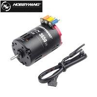 Hobbywing QuicRun 3650 G2 sensore 6.5T/8.5T/10.5T/13.5T/17.5T/21.5T 2-3S motore Brushless da corsa a 2 poli per auto 1/10 1/12 Rc