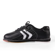 Unisex Bowling Shoes Anti-Skid Outsole Sports Sneakers Men Women Breathable Training Shoes Large Size Eu38-46(China)