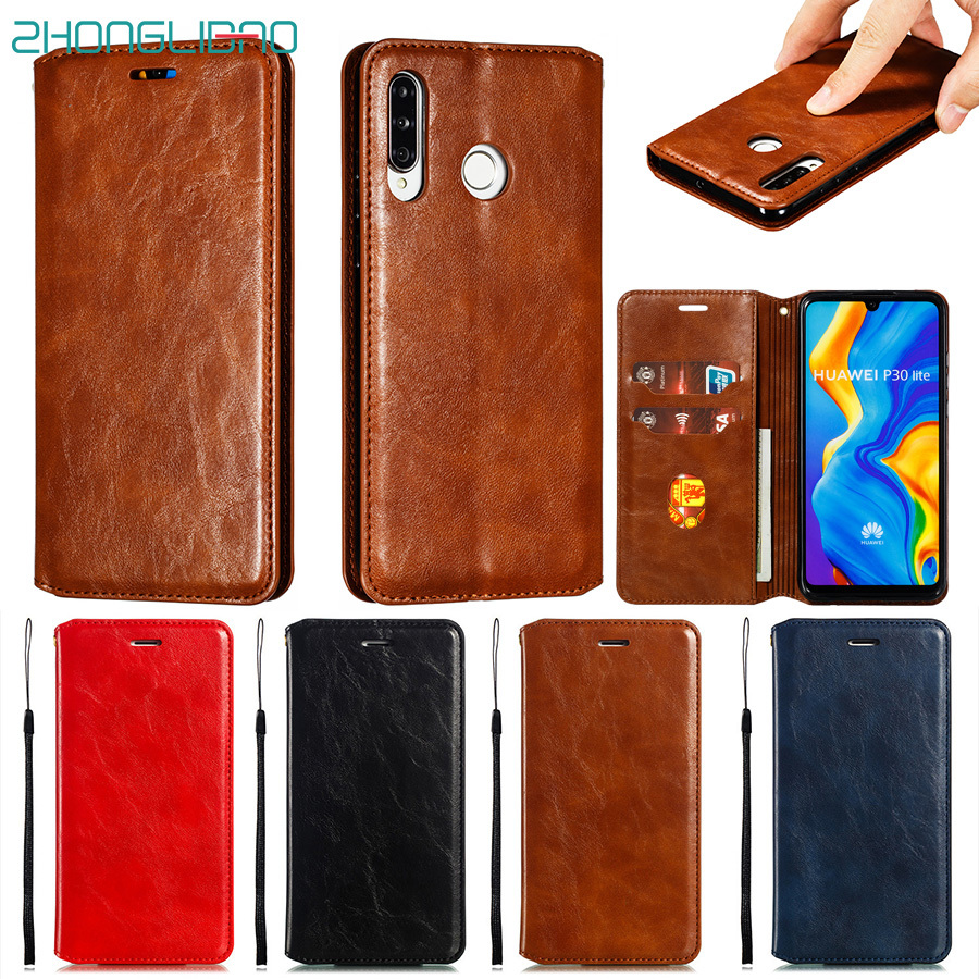Wallet Case for Huawei P30 P20 Pro <font><b>Lite</b></font> Nova 4e 3e Magnetic Flip Luxury Leather Book Cover Huwei <font><b>Mate</b></font> 30 <font><b>20</b></font> 10 <font><b>Lite</b></font> Pro Phone image