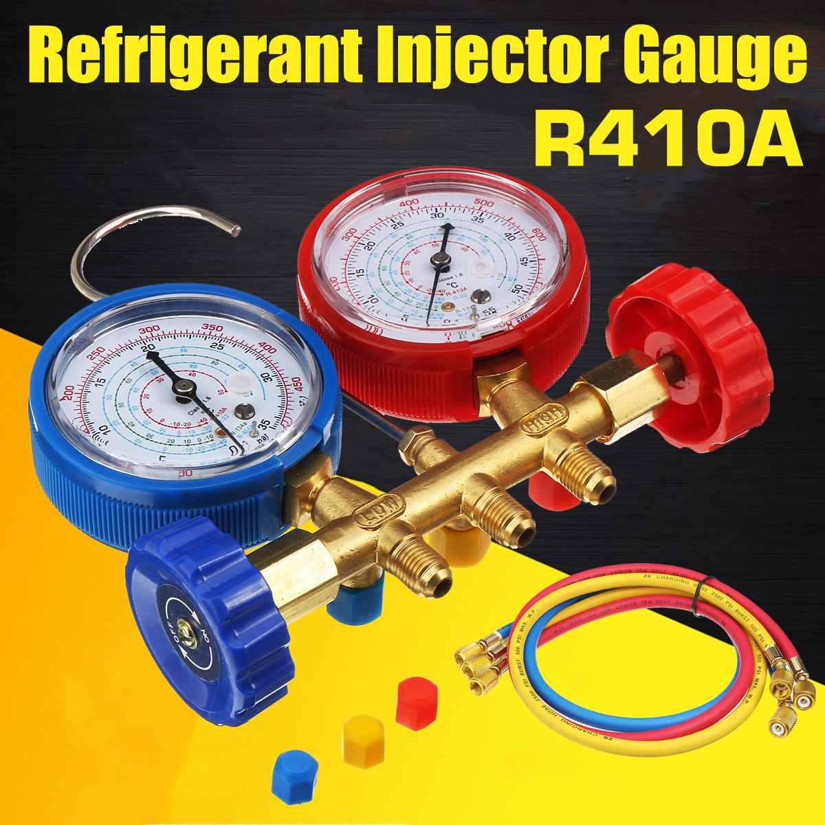 Calibre do Coletor com Dispositivo do Líquido Refrigerante do Conector Alta Precisão R40 R410a R22 R134a