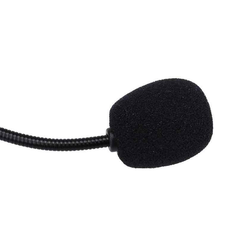 5 sztuk wysokiej gęstości wysokiej elastyczności miękka elastyczna gąbka mikrofon pokrowiec na główkę do zestawu słuchawkowego kołnierz Mic