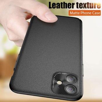 ZNP Оригинальный ПК кожаный чехол для телефона с текстурой для iPhone 11 11 Pro Max X Xs Max Чехлы для iPhone SE 6 6s 7 8 Plus задняя крышка оболочка