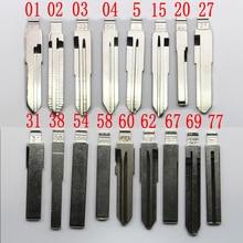 Пульт дистанционного управления цепи#02# 31B#15 ключа автомобиля заготовка для ключа для Kia Toyota правой и левой лезвие автомобиля заготовка для ключа No.15 замены ключа
