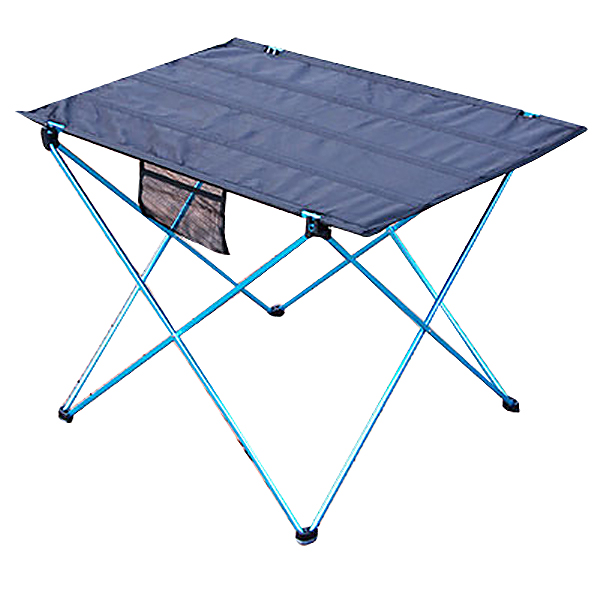 Folding Table Bbq Picnic Table Portable Camping Table Camping Outdoor Folding Table Aluminum Alloy Folding Table Blue|Outdoor Tools| |  - title=