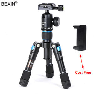 Travel Tripod Camera-Holder Mount Mobile-Phone-Stand The-Table for with 1/4