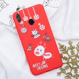 Image 3 - Phone Case For Huawei P20 Lite P30 Lite on the for Huawei Honor 10 20 Lite 9X 8X Christmas Santa Silicon TPU Cartoon Girly Cover