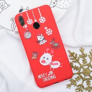 Image 3 - Telefon Fall Für Huawei P20 Lite P30 Lite auf die für Huawei Honor 10 20 Lite 9X 8X Weihnachten Santa silicon TPU Cartoon Girly Abdeckung