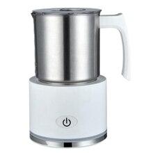 Milk Frother Warmer Electric Coffee Steamer Heater,Hot &Cold Automatic Foam Maker for Latte Cappuccino Macchiato,EU Plug