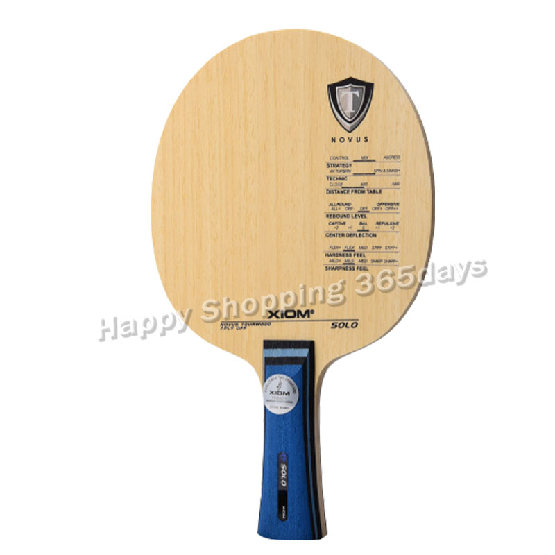 Original XIom SOLO table tennis blade pure wood racquet sports indoor sports xiom table tennis racket
