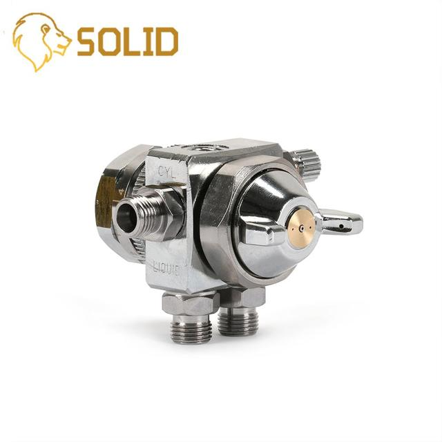 Spray Gun Head Pneumatic Automatic Airbrush Spraying Paint Furniture Industrial Nozzle 0.5/1.0/1.3/2.0mm ST-6 HVLP