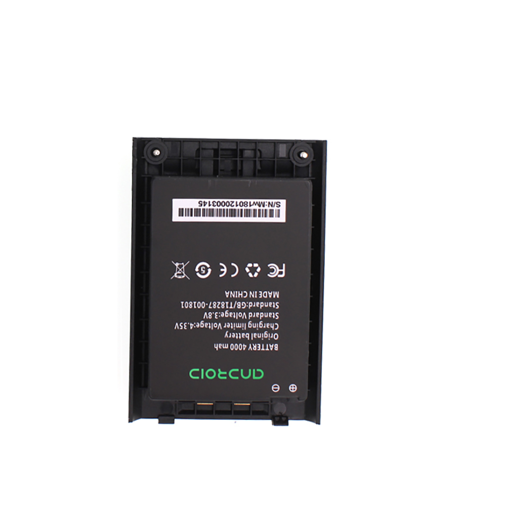 ANYSECU Walki Talki Phone Battery 4000mAh Li-on Battery For F40 7S+ 4G LTE Network Radio Zello PTT Walkie Talkie