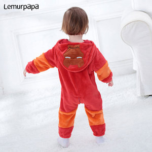 Image 3 - Iron Man Romperเสื้อผ้าเด็กทารกOnesieทารกแรกเกิดการ์ตูนเครื่องแต่งกายตลกCoolชุดนอนFlannel Warmฤดูหนาวทารกเล่นเกมชุด