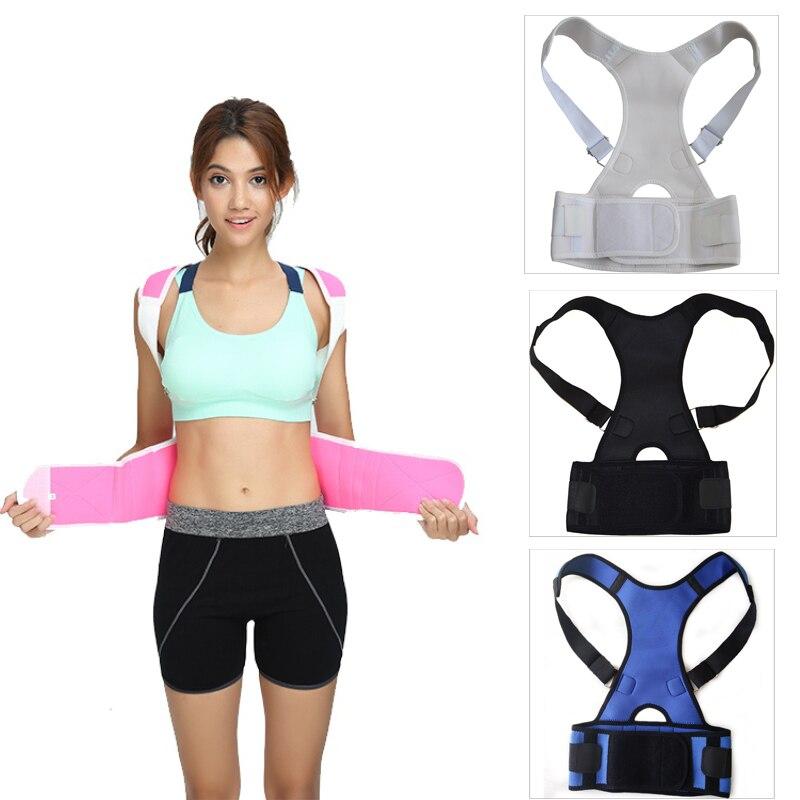 Cinturón de soporte de hombro Corrector de postura órtesis de espalda deportiva Lumbar cinturón de apoyo de espalda alivio de dolor de espalda Faja Lumbar|Soporte de espalda| - AliExpress