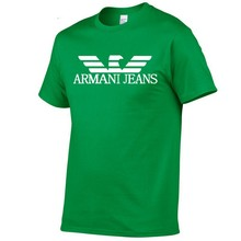 Camiseta de algodón de 100% para hombre de Camiseta básica informal cuello redondo de camiseta de calidad de novedad de verano 2021