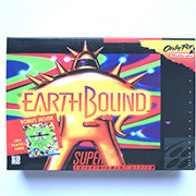 Earthbound with box 16bits game cartridge US Version