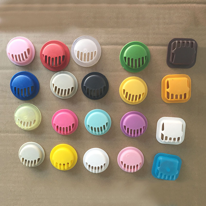 100pcs/Pack Pp Plastic Plus Silicone Film Mask Breathing Valve Mask Anti-fog Haze Avoid Contaminants From The Outside World