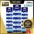 YCDC 15 stück 927 DL927 BR927 BR927-1W CR927-1W 3 V CR927 Lithium-Batterie Fernbedienung Uhr Uhr Münze Zelle Batterie ersetzen