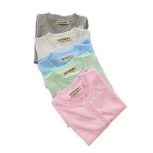 Модный свитер для маленьких девочек г., Осенний вязаный кардиган, повседневный Однотонный свитер с длинными рукавами для девочек трикотажная верхняя одежда, LZ070