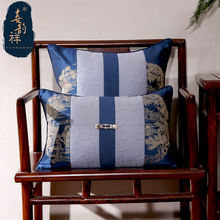 Декоративная наволочка для дивана с вышивкой квадратные шелковые