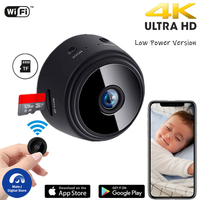 MJS 2K HD Mini cámara IP Wifi Inicio de seguridad vigilancia aplicación remota Control Micro violeta grabadora de Video DVR inalámbrico Cam